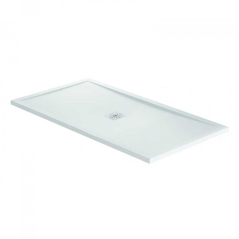April Waifer Gloss White Shower Tray 1100x900mm
