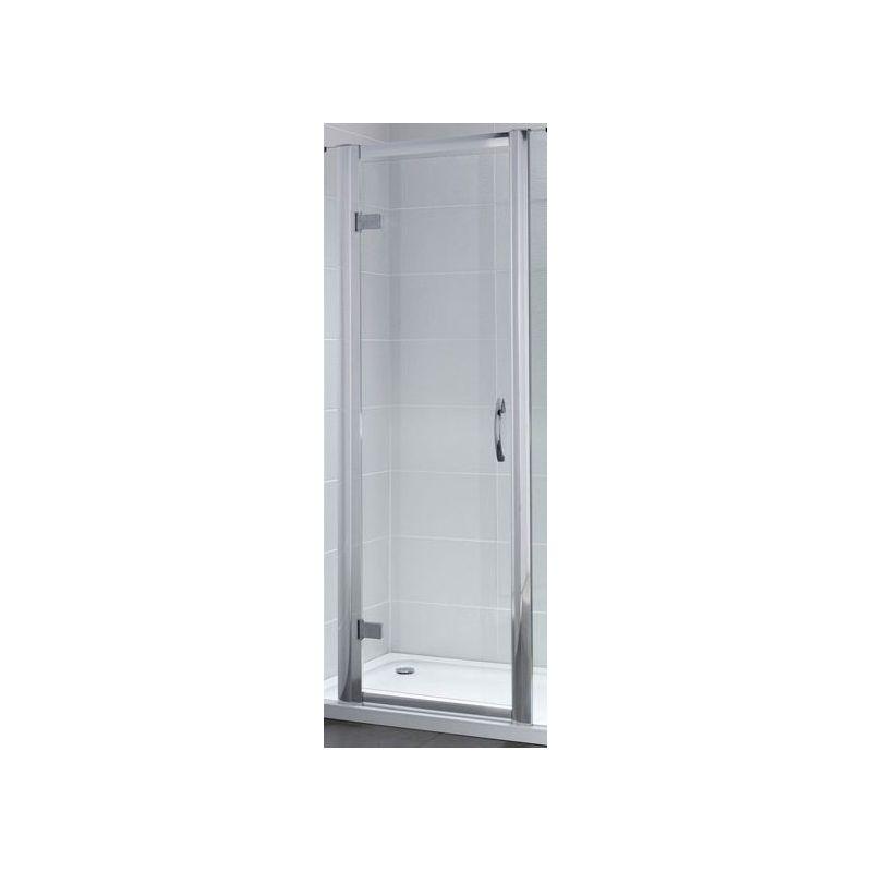 April Identiti2 760mm Hinged Semi-Frameless Shower Door