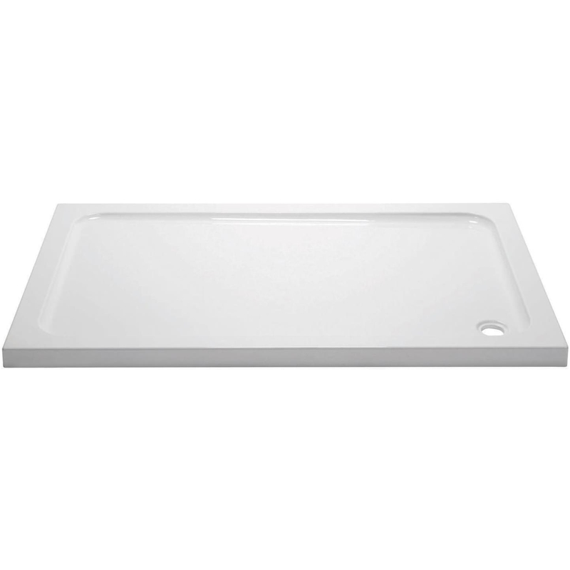 April 1000x700mm Rectangular Shower Tray