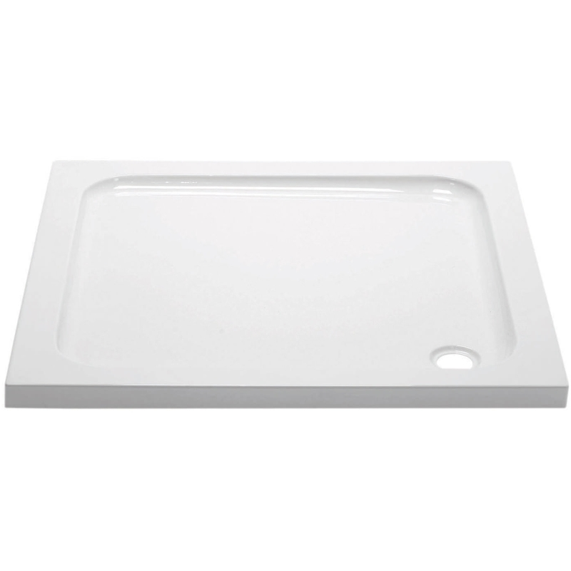 April 760x760mm Square Shower Tray