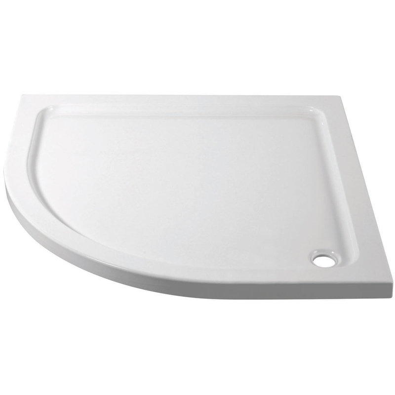 April 900x900mm Quadrant Shower Tray