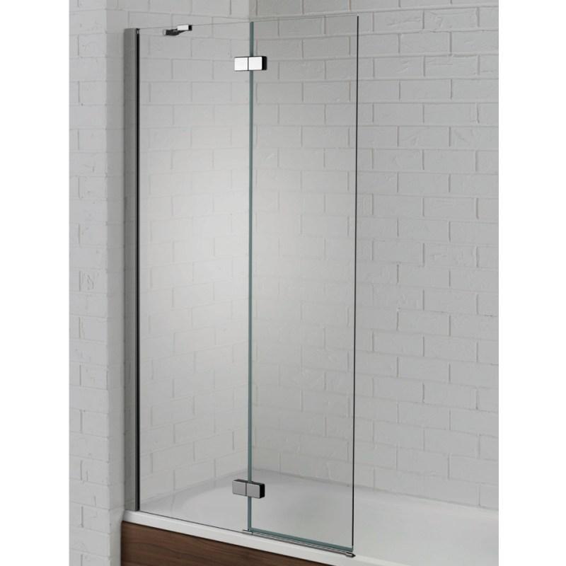 Aquadart Venturi 6 Hinged Bath Screen Left Hand