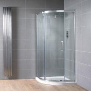 Aquadart Venturi 8 Single Door Quadrant Enclosure 900x760mm