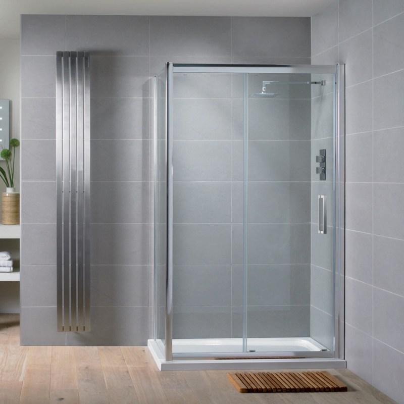 Aquadart Venturi 8 Sliding Shower Door 1600mm