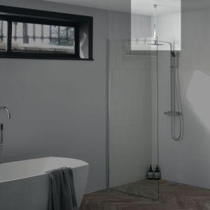 Aquadart Wetroom 8 Ceiling Support Arm Silver