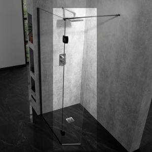 Aquadart 10mm Hinged Return Panel Clear/Black