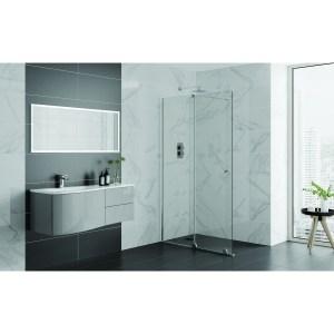 Aquadart Rolla 8 Sliding Wetroom Door 1100mm