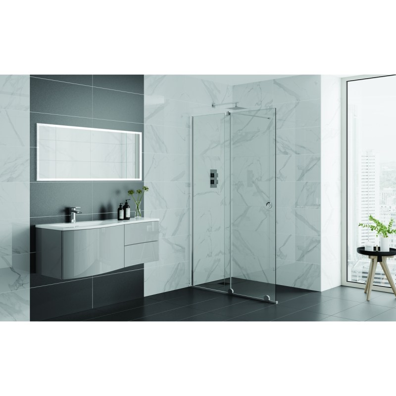Aquadart Rolla 8 Sliding Wetroom Door 1200mm