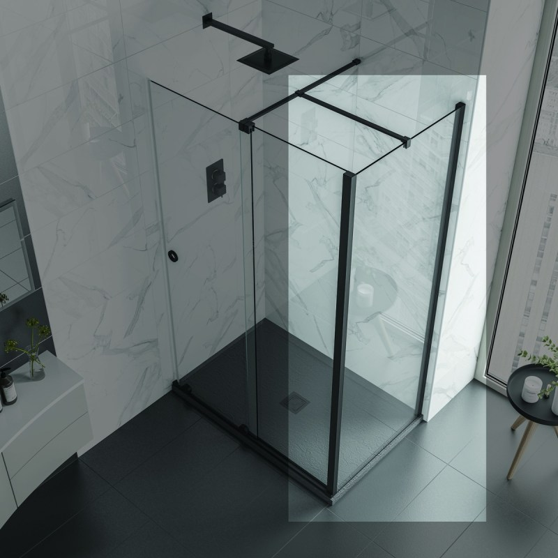 Aquadart Rolla 8 Side Panel 760mm Matt Black