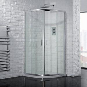 Aquadart Venturi 6 Double Door Quadrant Enclosure 1000x800mm