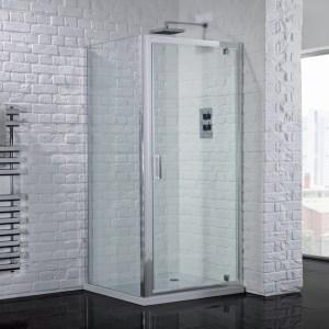 Aquadart Venturi 6 Pivot Shower Door 700mm