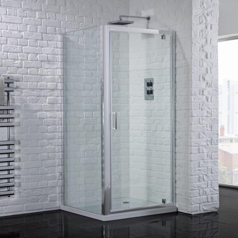 Aquadart Venturi 6 Pivot Shower Door 800mm