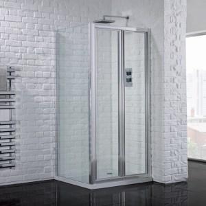 Aquadart Venturi 6 Bifold Shower Door 900mm