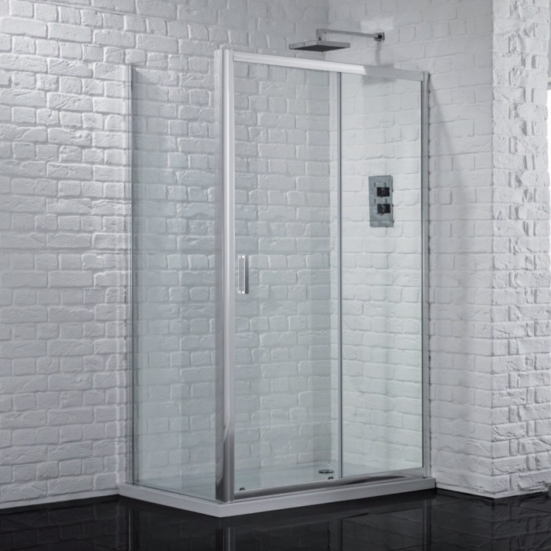 Aquadart Venturi 6 Sliding Shower Door 1600mm