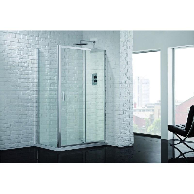 Aquadart Venturi 6 Sliding Shower Door 1000mm