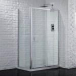 Aquadart Venturi 6 Sliding Shower Door 1100mm