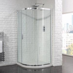 Aquadart Venturi 6 Single Door Quadrant Enclosure 1200x900mm