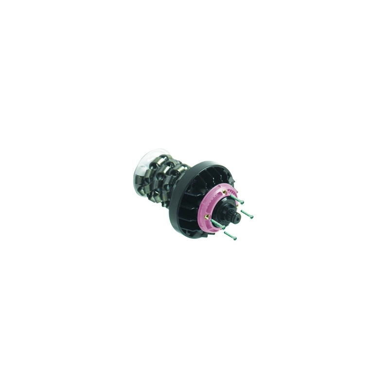 Aqualisa Thermo Multipoint Cartridge (Pink) with Chrome Screws