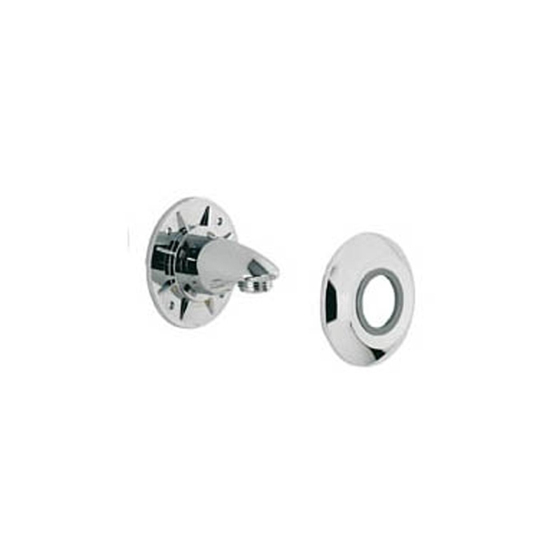 Aqualisa Wall Outlet Assembly Chrome
