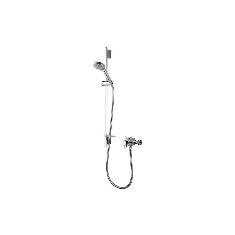 Aqualisa Aspire DL Exposed Shower with 105mm Harmony Head