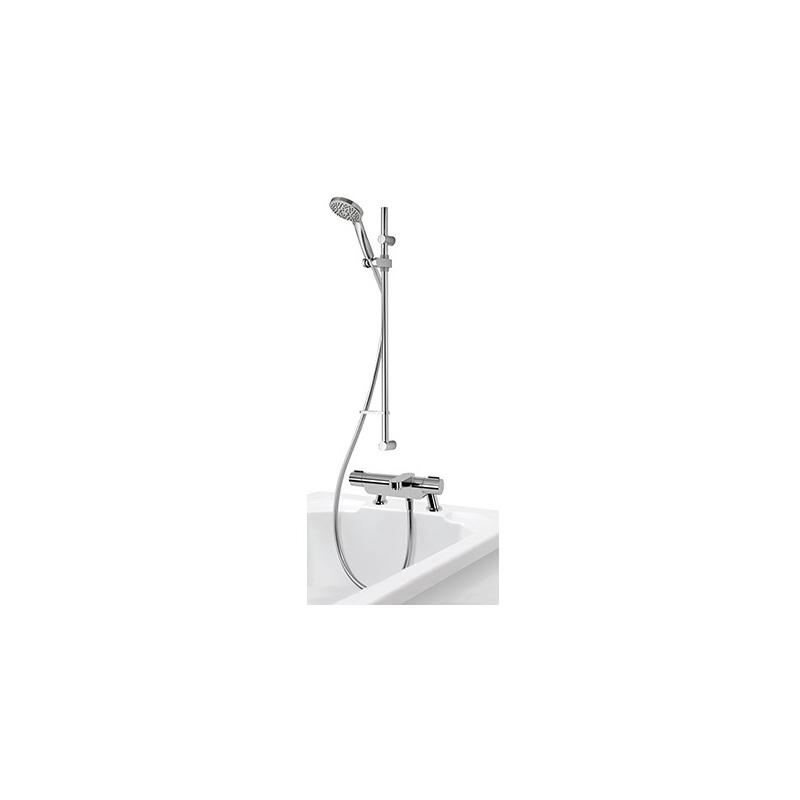 Aqualisa Midas 220 Thermo Bath Shower Mixer with Adjustable Head
