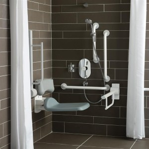 Armitage Shanks Doc M Unisex Shower S6960 Charcoal