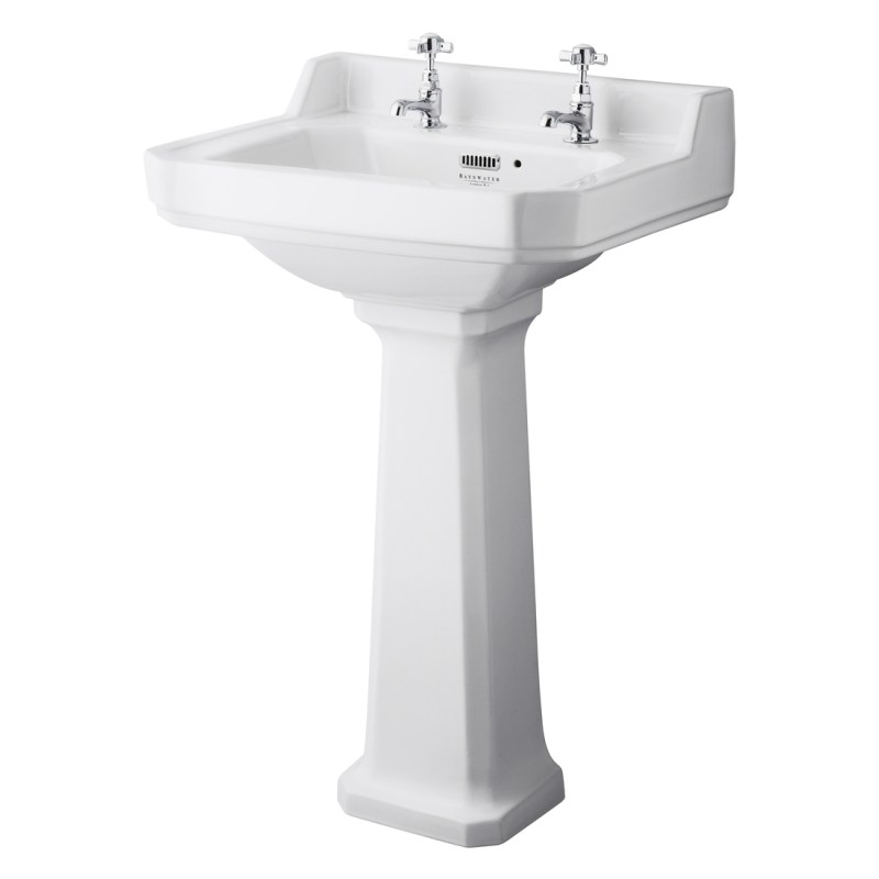 Bayswater Fitzroy 560mm 2 Tap Hole Basin