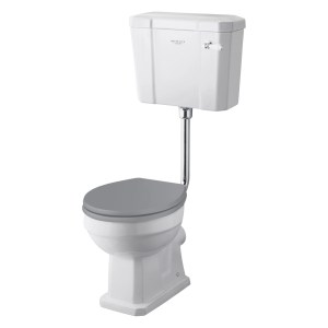 Bayswater Fitzroy High/Low Level WC Pan (Excluding Seat)