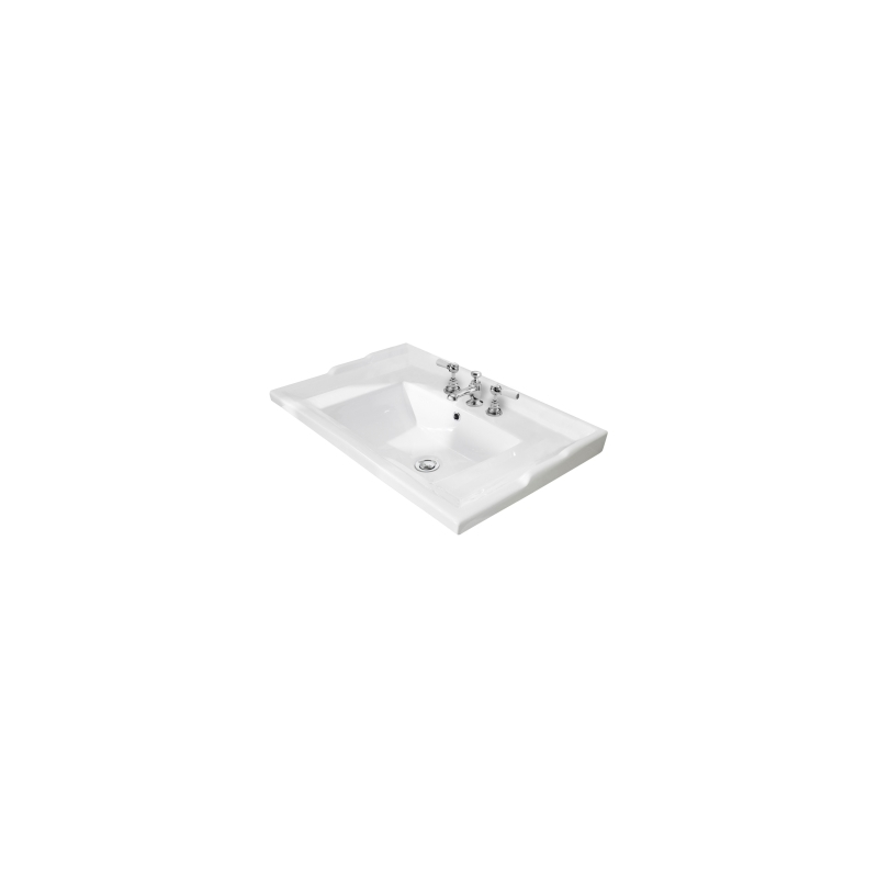 Bayswater 1000mm Traditional Basin 3 Tap Hole