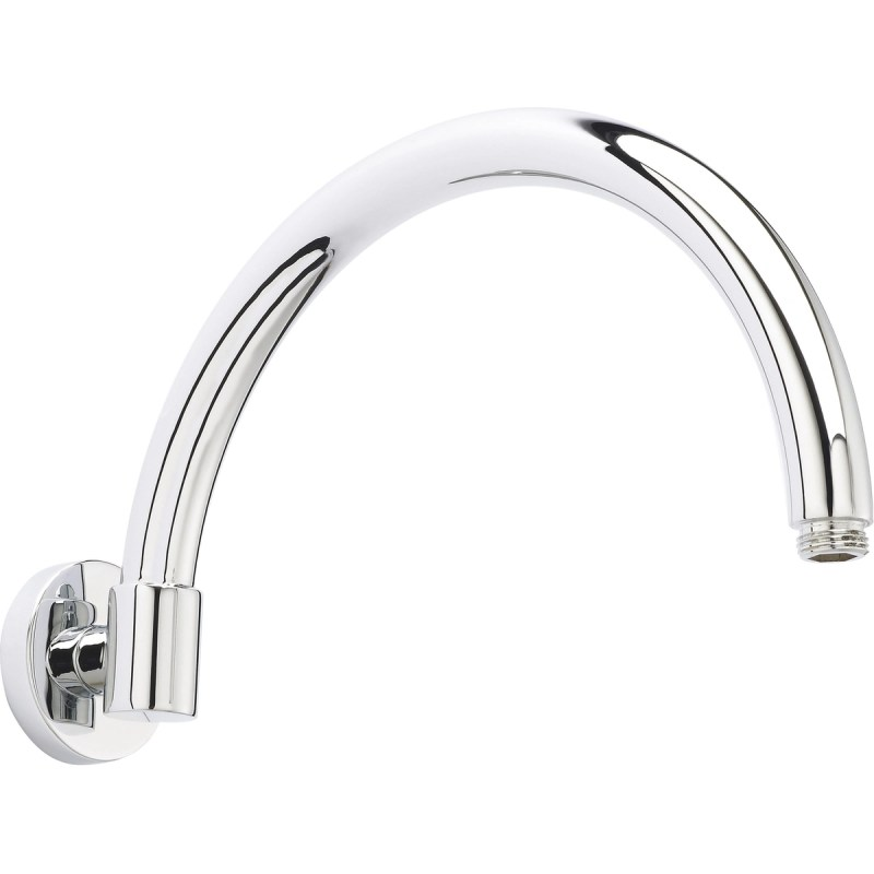Bayswater Wall Mounted Curved Shower Arm