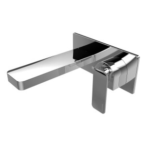 Bristan Alp Wall Mounted Bath Filler Chrome