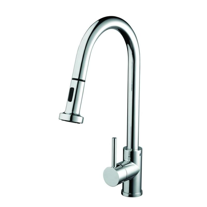 Bristan Apricot Monobloc Sink Mixer with Pull Out Spray Chrome