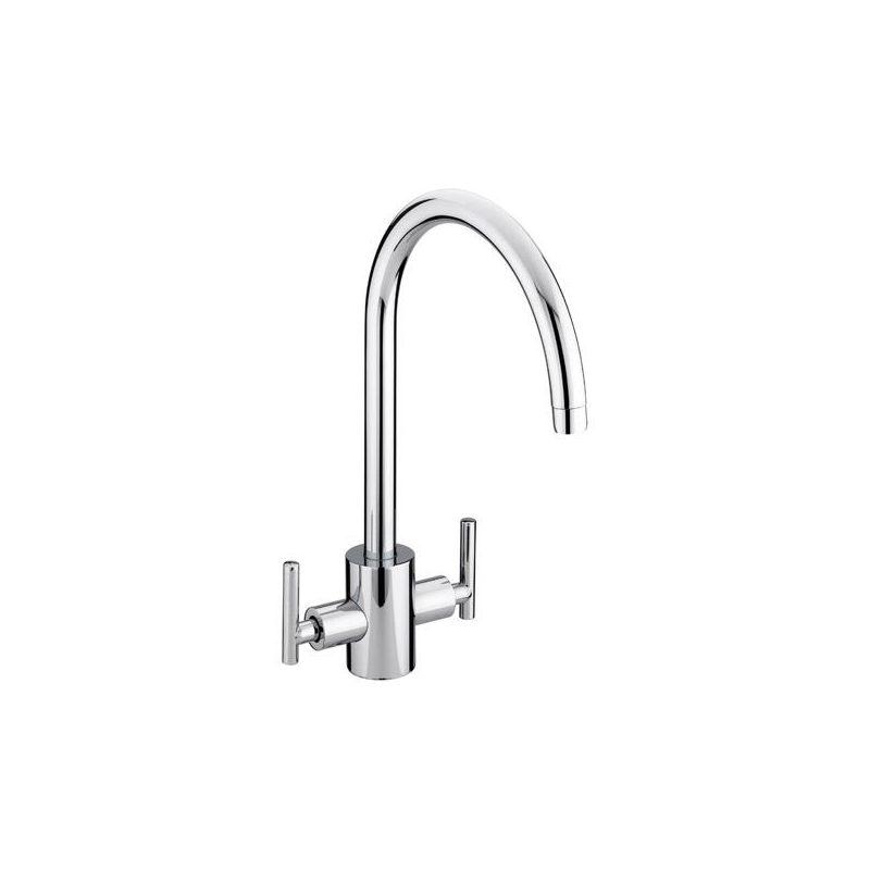 Bristan Artisan Easyfit Sink Mixer Brushed Nickel