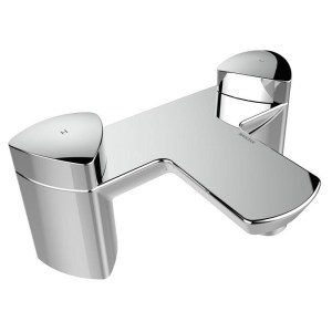 Bristan Bright Bath Filler Chrome