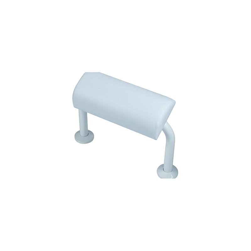Bristan Aluminium Back Rest Rail & Pad White
