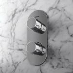 Bristan Exodus Thermostatic Recessed Dual Control Shower Valve