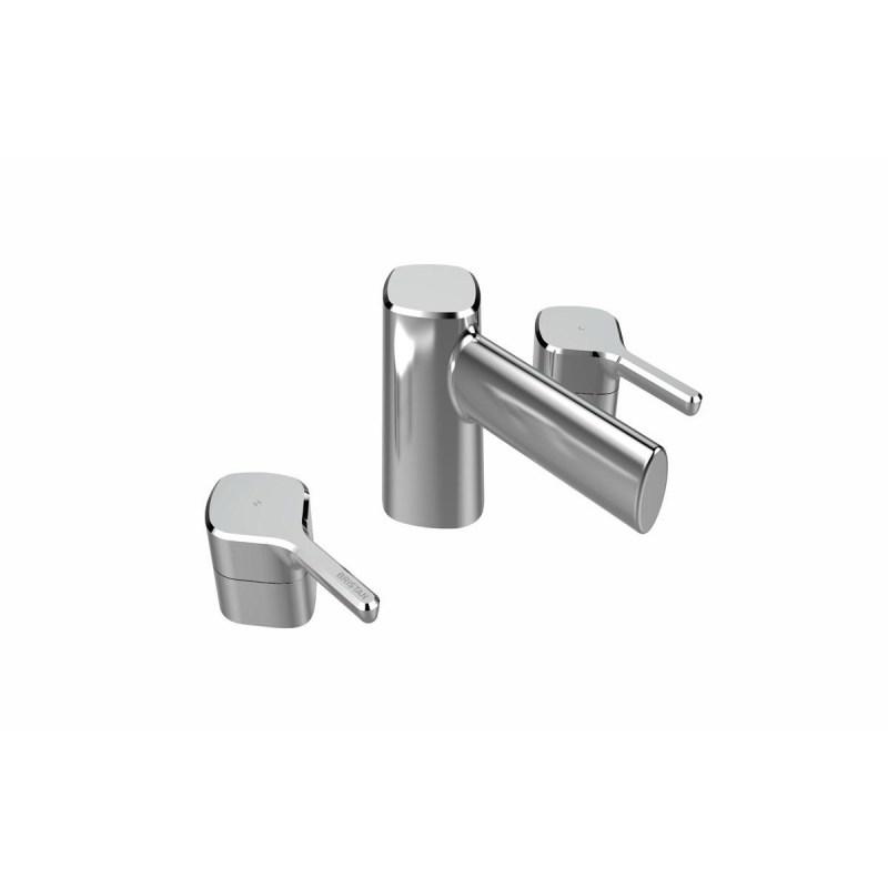 Bristan Flute 3 Hole Basin Mixer Chrome