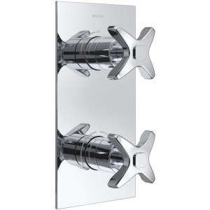 Bristan Glorious Concealed Dual Control Valve Only Chrome