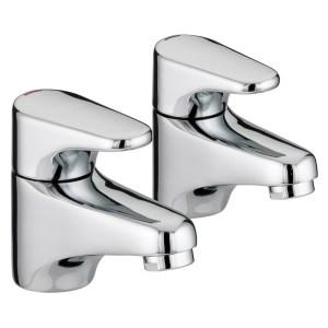 Bristan Jute Basin Taps 4 Litre per Minute Flow