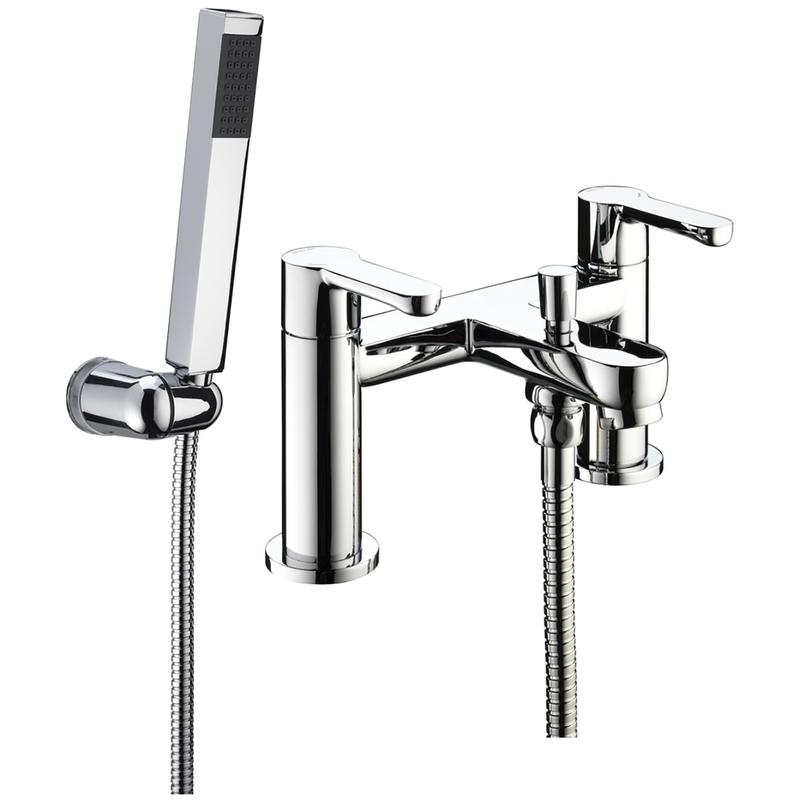 Bristan Nero Bath Shower Mixer 6 Litre per Minute Flow