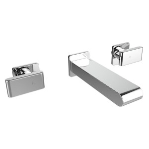 Bristan Pivot Wall Mounted Bath Filler Chrome