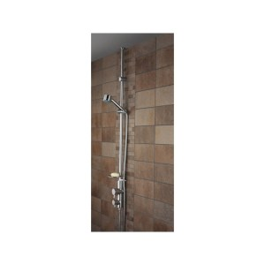 Bristan Prism Exposed Twinline Dual Control Shower with Kit