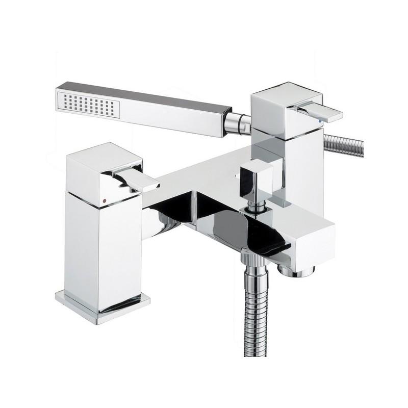Bristan Quadrato Pillar Bath Shower Mixer