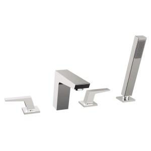Bristan Sail 4 Hole Bath Shower Mixer Chrome
