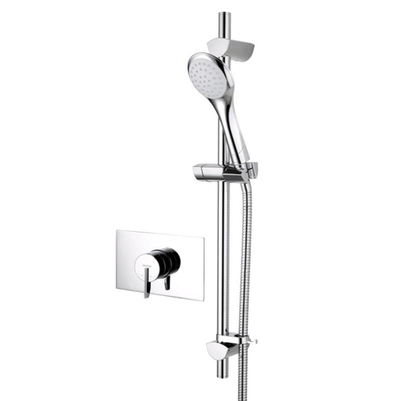 Bristan Sonique2 Thermostatic Recessed Shower Valve with Riser