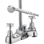 Bristan X Head Bath Shower Mixer 8 Litre per Minute Flow