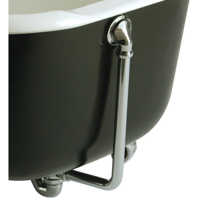 Bristan Traditional Exposed Bath Waste with Overflow Chrome