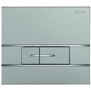 Bathrooms To Love Segment Flush Plate Stainless Steel