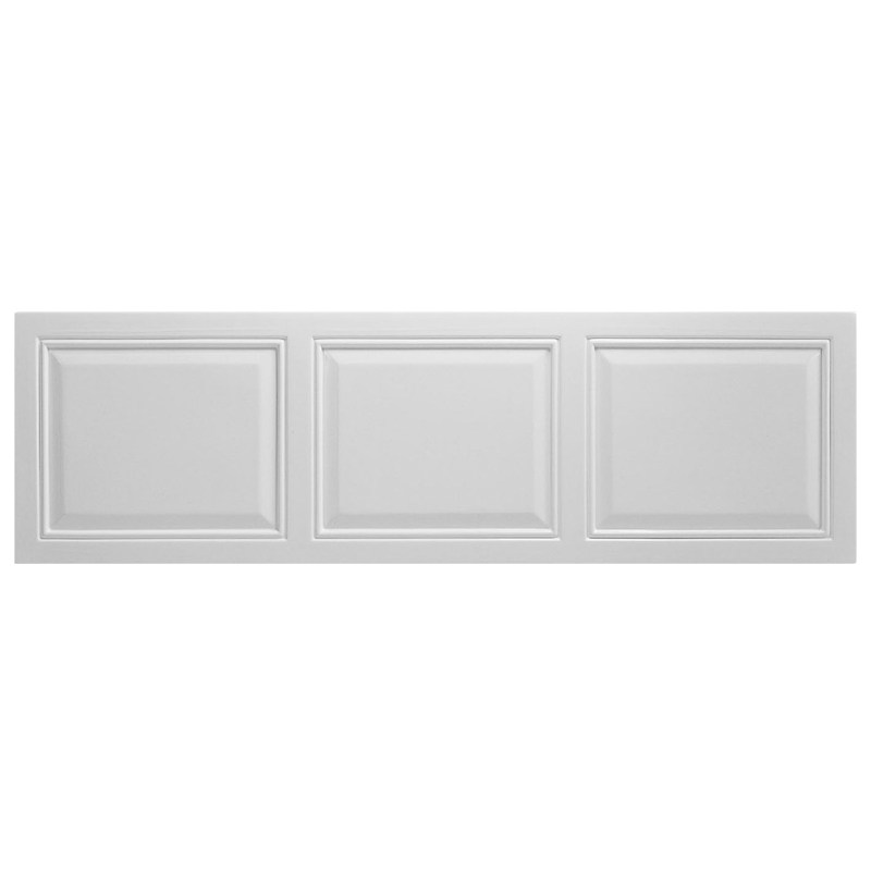 Bathrooms To Love White Tudor 1700mm Front Panel