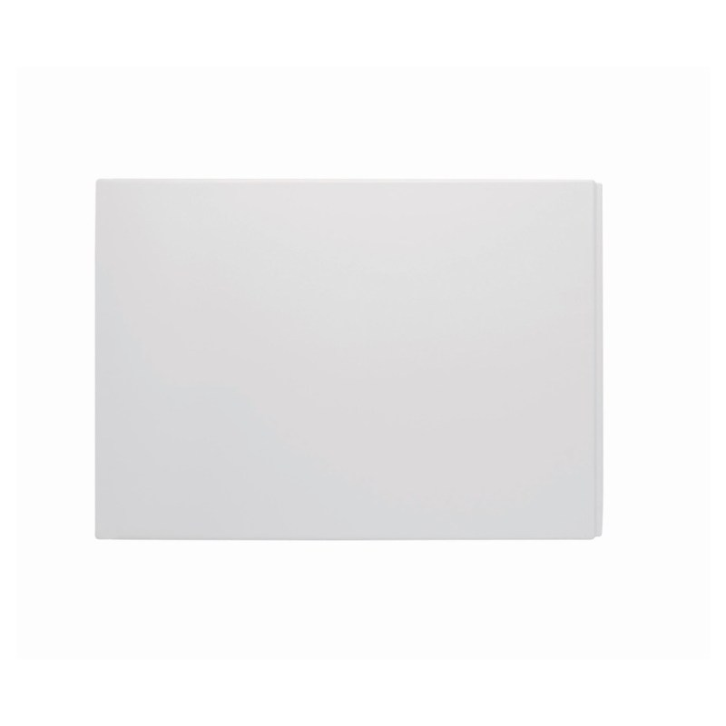 Bathrooms To Love White Deluxe Plain 750mm End Bath Panel